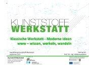 Kunststoff-Werkstatt - Dr. Reinold Hagen Stiftung