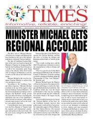 Caribbean Times 63rd Issue - Friday 23rd December 2016