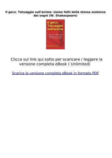 geco-Tatuaggio-sullanima-sostanza-Shakespeare-ebook