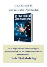 GRATIS Ebook-So funktioniert Viral Marketing