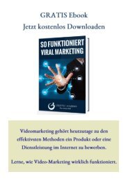GRATIS Ebook-So funktioniert Video Marketing