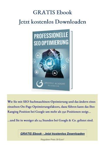 GRATIS Ebook-So funktioniert SEO Suchmaschinen Optimierung