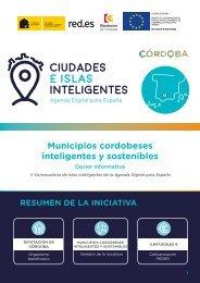 Municipios cordobeses inteligentes y sostenibles