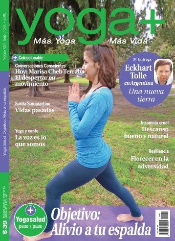 YOGA MAS Edición 62 (Septiembre y Octubre 2016)