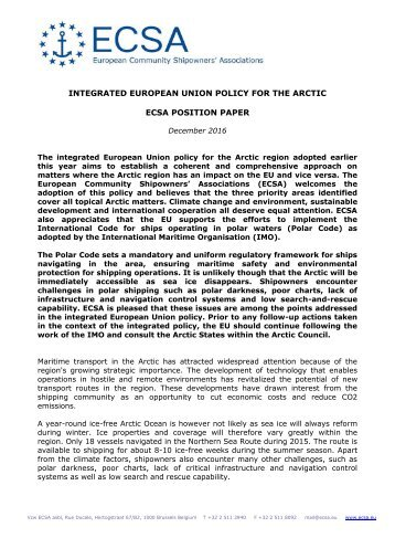 arctic conflict position paper Writing a position paper followed by a comprehensive breakdown of your country's position on arms with associated problems and issues reignite armed conflict.