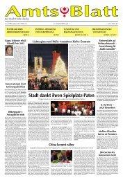 Amtsblatt Nr. 18 vom 30.11.2011 - Stadt Halle (Saale)