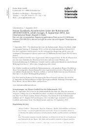 International Ibsen Award - Ruhrtriennale