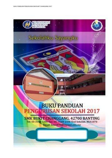 TERKINI BUKU PENGURUSAN SEKOLAH 2017