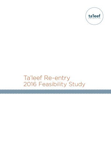 Ta'leef Re-entry