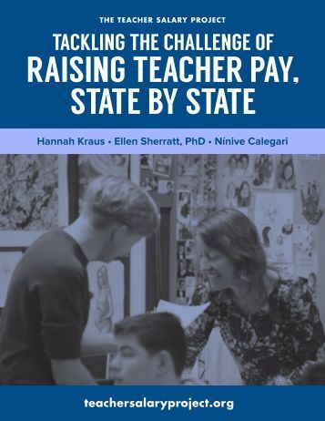 RAISING TEACHER PAY STATE BY STATE