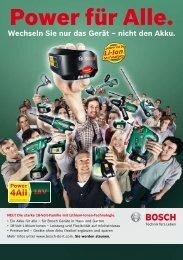 PDF - 6,2 MB - Bosch Elektrowerkzeuge für Heimwerker