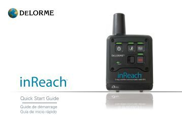 Garmin inReach® for Smartphones - Bluetooth Quick Reference Guide