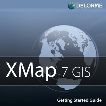 Garmin XMap 7 GIS - Quick Reference Guide