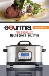 Gourmia GMC650 Multi Cooker with Sous Vide -