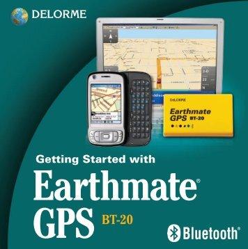 Garmin Earthmate® BT-20 - Owner's Manual
