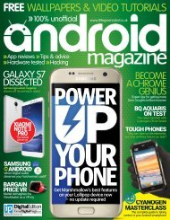 Android Magazine  - Power Up Your Phone