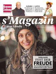 s'Magazin usm Ländle, 25. Dezember 2016