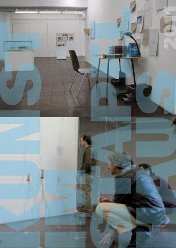 Ausstellungsprogramm 2011 als DOWNLOAD - BBK Köln