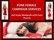 Christmas Celebration with Pune escorts -Gauri Anand