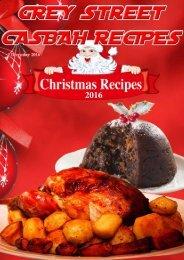 Grey Street Casbah Recipes Christmas 2016