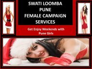 Enjoy Christmas with an high class escort in Pune- SWATI lOOMBA