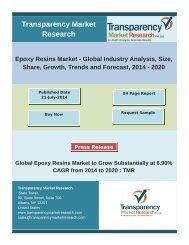 Epoxy Resins Market