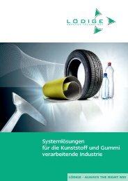 Systemlösungen für die Kunststoff und Gummi verarbeitende Industrie