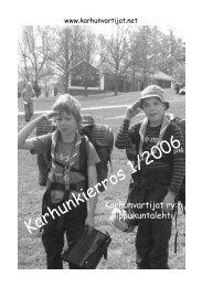 Karhunkierros 1/2006