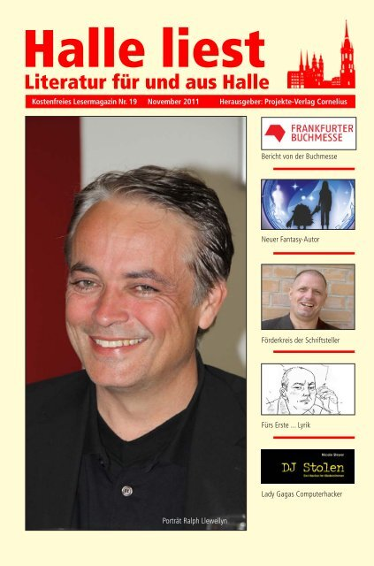 November 2011 - Halle liest - Projekte-Verlag Cornelius
