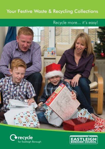 Your Festive Waste & Recycling Collections