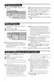 Philips Flat TV - Mode d'emploi - SWE - Page 7