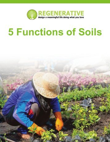 5 Functions of Soils