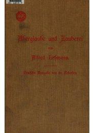 Aberglaube und Zauberei 1898