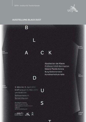 AUSSTELLUNG BLACK DUST - SEPIA