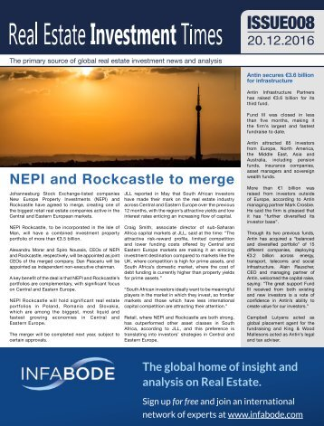 NEPI and Rockcastle to merge