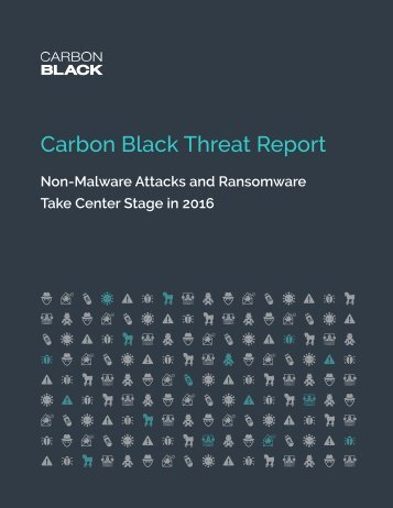 Carbon Black Threat Report