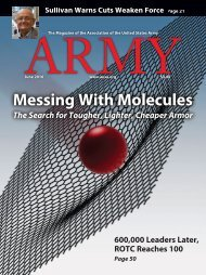 Army - Messing With Molecules