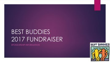 BB2017 - Fundraiser Sponsorship Brochure