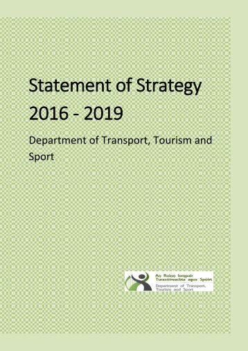 Statement of Strategy 2016 - 2019