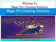 Housekeeping Dana Point, CA  Magic Pro Cleaning Solutions