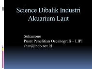 Science Dibalik Industri Akuarium Laut