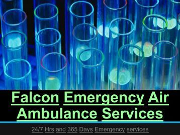 Emergency Air Ambulance Services by Falcon Emergency in Allahabad-Bangalore