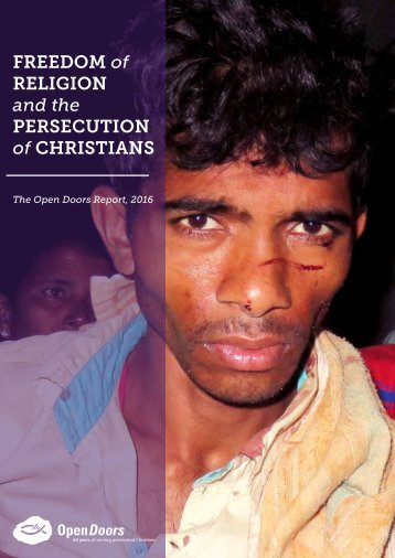 Freedom of Religion and the Persecution of Christians