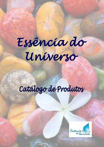 Catalogo de Produtos Essência do Universo