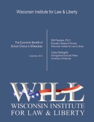 Wisconsin Institute for Law & Liberty