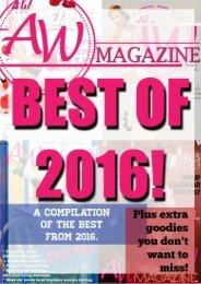 Best of 2016 AW Magazine