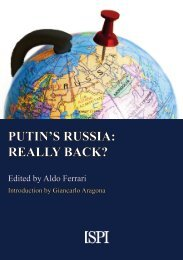 PUTIN'S RUSSIA REALLY BACK?
