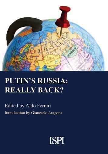 PUTIN'S RUSSIA REALLY BACK?