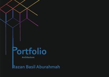 portfolio design razan