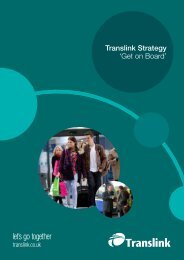 Translink Strategy 'Get on Board'